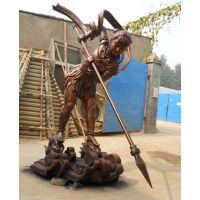 专业制作雕塑产品玻璃钢人物雕塑运输方便可加工定制树脂