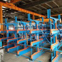 昆山存放长材料货架交付使用 伸缩式结构分类存放6米 8米 10米 12米材料