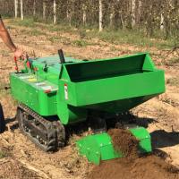 高低矮果园履带开沟机 自走式施肥回填机批发直销