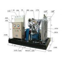 气瓶检测线电动高压空气压缩机 25MPA/1.5立方排量空气压缩机