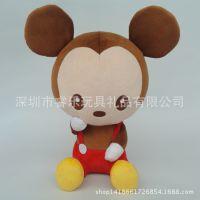 正版米老鼠公仔 Q版米奇原创设计来图定制各类毛绒玩具抱枕挂件等