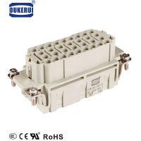 HEE-032-FC 32芯重载连接器矩形插头厂家