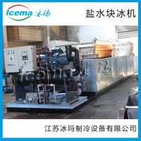 江苏冰玛日产3吨冰砖机 条冰机大型 工业块冰机 盐水式制冰机厂