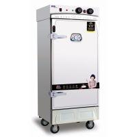 美厨蒸饭车 MCKZ-JD6六盘精工缺水断电蒸饭柜 商用电蒸柜