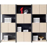 实用多变组合资料柜创意简约板式文件柜陈列储物现代办公书柜直销
