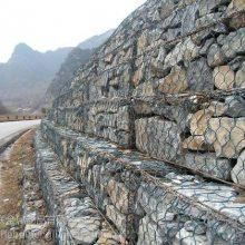 定做堤坝防护绿色浸塑镀锌石笼网 现货直供包塑防洪护坡石笼网石笼网厂家哪家好