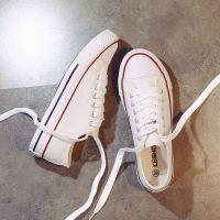 CESHOESES帆布鞋女2018秋款新款韩版学生平底休闲鞋百搭布鞋板鞋
