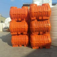 华社厂家直销定制新农村三格式塑料化粪池 旱厕改造污水处理化粪池