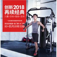 力动RIDO综合训练器多功能 家用健身房健身器材商用力量运动训练器械 三人站训练器
