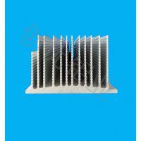 高密齿电子铝散热片块功放散热器密齿铝型材大功率超薄散热铝