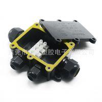 龙然直销 IP68防水接线盒 水底灯专用电缆接线盒 PC塑胶防水盒