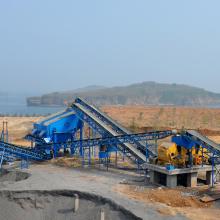 砂石生产线 碎石石料反击式破碎机生产线 制砂石子生产线全套设备