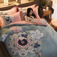 厂家直销匹马棉全棉四件套 大阪纯棉床单被套床笠床上用品批发