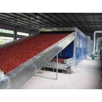 颗粒活性炭专用网帯式干燥机,活性炭烘干机(图片)