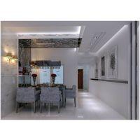 现代简约风格餐厅装修设计图 室内家庭装潢家装家居装修效果图片