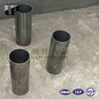 硬质合金YG8大规格耐磨薄壁圆管 大口径钨钢管 油气机械耐磨合金管