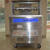 炒酸奶机单锅方锅炒冰机器泰卷机双层六桶炒冰淇淋卷机器1500w