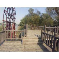 水泥仿木树藤栏杆仿树枝栏杆厂家