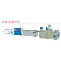 全自动Pvc管材一出二管材挤出机 PE/PVC螺旋消音管管材生产线设备
