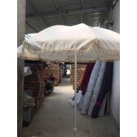 厂家直销流苏沙滩伞、流苏太阳伞。遮阳伞定制