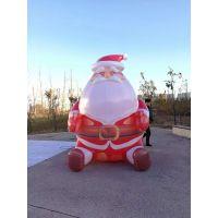 充气圣诞老人气模充气雪人气模厂家定做