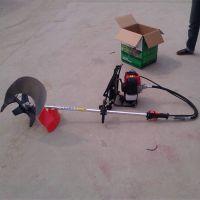 新型小型锄地松土机 四冲程背负式汽油割稻机 小型收割机