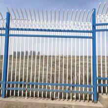 国帆铁艺围栏厂家 定做小区防护栏 道路市政护栏价格