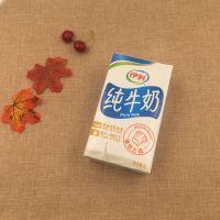 伊利牛奶批发纯牛奶利乐包1L*12盒/箱 宾馆餐饮烘培食材 整箱批发