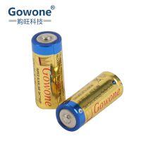 购旺 Gowone 耐用型 无汞环保碱性电池 出口简装 8号电池 LR1 转经轮激光笔成人情趣用品电