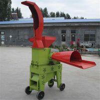 小型家用电动多功能铡草揉丝机 粮食秸秆粉碎机厂家