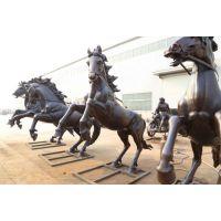 厂家定制 大型铜马阿波罗战车雕塑铜奔马雕塑广场园林景观摆件