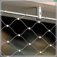 天井安全防护网/幼儿园安全不锈钢绳网/阳台阳光房防砸网