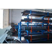 湖北钢管存放架 正耀伸缩式管材货架设计 专业钢材货架 存取机械化