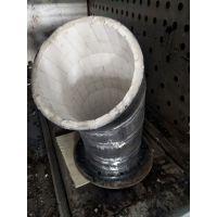 赢驰湖北耐磨陶瓷弯头电厂煤粉管道用