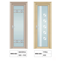 厂家批发平开门铝合金门窗隔音防盗房间卫生间家装优选