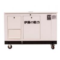 伊藤12kw静音天然气发电机YT12RGF价格