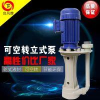 台风牌槽内立式泵 耐腐蚀离心泵 优质耐腐蚀泵品牌 厂家直销性价比高