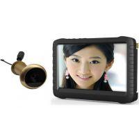 5.8ghz无线光学猫眼摄像录像机 家庭监控摄像头 门禁好帮手