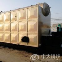 DZL系列卧式单锅筒链条炉排2吨生物质常压热水锅炉