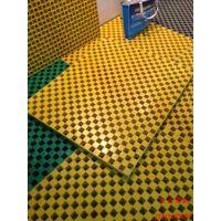 玻璃钢污水沟踏步板 玻璃钢格栅树篦子树脂复合网格板