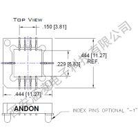 Digisensor MDSM-1000A-B配套ANDON插座620-10B-SM-G10-L14