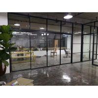 嘉格公司84款单玻办公玻璃隔断