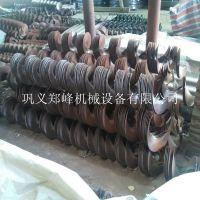 定做各种型号材质厚度蛟龙叶片 专业配套管式 U型螺旋输送