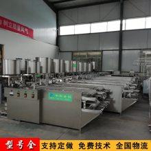 聊城仿手工豆腐皮机设备,小型自动仿手工豆腐皮生产线厂家