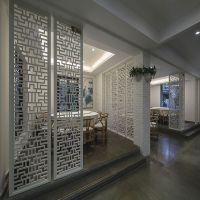 广东厂家批发 中式铝艺窗花 2.5mm 餐厅隔断装饰 来样定制