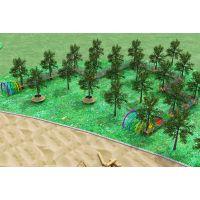 景区户外游乐项目 幼儿园整体规划设计 原生态拓展游乐设施 木质组合滑梯 体能拓展训练