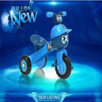 免安装可折叠儿童脚踏三轮车超轻便携带音乐灯光宝宝脚蹬三轮