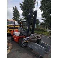 上海优质二手3吨合力砖夹叉车 免烧砖抱砖机低价促销中