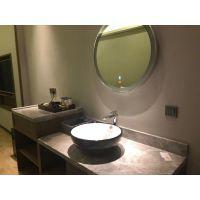 浴室镜灯镜背光镜LED灯带卫浴镜无框防雾卫生间镜子可定做
