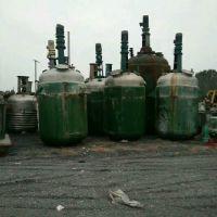 山东回收二手500升不锈钢反应釜